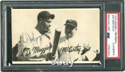 1936 R314 Joe DiMaggio Signed ROOKIE Goudey (POP 1) With Rookie Era Signature PSA