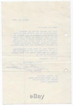 1960 MARILYN MONROE TLS Typed Signed Letter withorg envelope Autograph PSA/DNA LOA