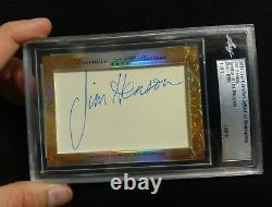 2017 Leaf Executive Jim Henson Muppets Autograph Cut Auto Signed 1/1 PSA DNA JSA