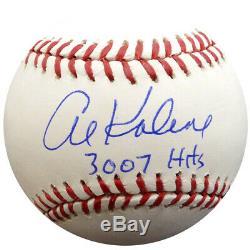 Al Kaline Autographed Signed Mlb Baseball Tigers 3,007 Hits Psa/dna 94300