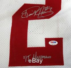 Alabama Derrick Henry Autographed White Jersey 15 Heisman Psa/dna 102488