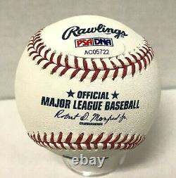 Albert Pujols Signed Official MLB Baseball PSA/DNA Auto AC05722 Angels NICE