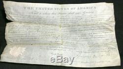 Andrew Jackson Signature Autograph Psa/dna Authentic