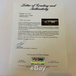 Beautiful Tony Gwynn Signed 1987 Batting Champion Bat PSA DNA Graded Mint 9