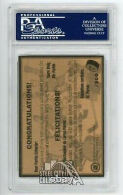 Bobby Orr 1995 Parkhurst Autographed Rookie Card #SR5 PSA/DNA /500