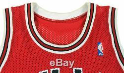 Bulls Michael Jordan Authentic Signed Red MacGregor Jersey PSA/DNA #B57360