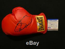 CANELO ALVAREZ Autographed Autograph Signed Everlast Boxing Glove MEXICO PSA/DNA