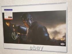 Captain America Chris Evans signed 12 x 18 Avengers Endgame photo PSA DNA