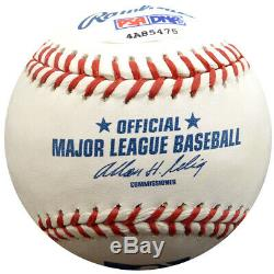 Cesar Geronimo Autographed Signed Mlb Baseball Reds 75, 75 Wsc Psa/dna 126616
