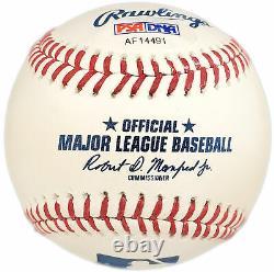 Chipper Jones Autographed Signed Mlb Baseball Braves Hof 18 Psa/dna 150312