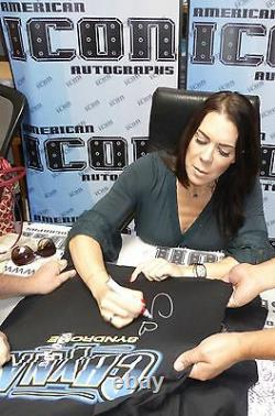 Chyna Syndrone Signed Original WWF Shirt PSA/DNA COA WWE Wrestling DX Autograph