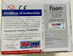 Daisy Ridley Signed Rey Funko Pop Star Wars Jedi Goggles PSA DNA Witness Auto