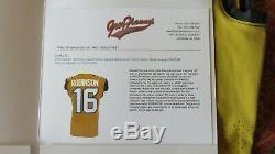 Denard Robinson Jacksonville Jaguars Autographed Game Issued Used Jersey PSA/DNA