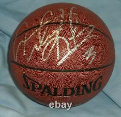 Dennis Rodman Signed Basketball PSA/DNA COA Bulls Pistons Spurs Lakers Ball Auto
