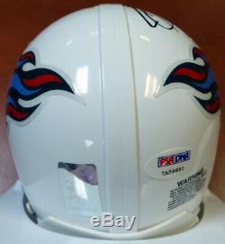Derrick Henry Autographed Signed Tennessee Titans Mini Helmet Psa/dna 104774