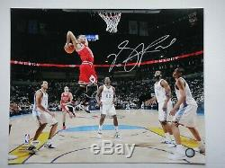 Derrick Rose Psa/dna Certified Signed 16x20 Photograph Autograph Chicago Bulls