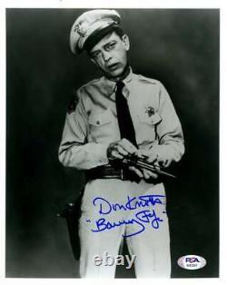 Don Knotts PSA DNA Coa Signed Barney Fife 8x10 Photo Autograph