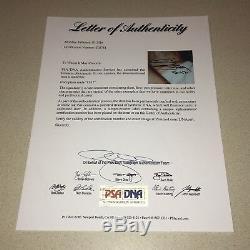 EMINEM SLIM SHADY autographed signed 8X10 MARSHALL MATHERS D-12 RAP PSA/DNA LOA