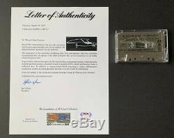 EMINEM Signed SSLP20 CHROME CASSETTE AUTO Only 99 Sold Out PSA/DNA COA #AH41012