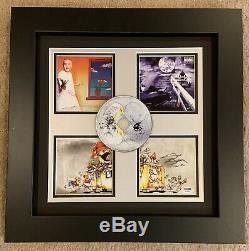Eminem Signed Slim Shady LP Booklet Inscribed With D-12 PSA/DNA Pro. Framed