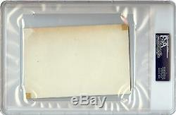 Grace Kelly Signed Autographed 4X6 Index Card Vintage Signature PSA/DNA Encased
