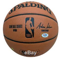 JA Morant Memphis Grizzles Autographed NBA Signed Basketball PSA DNA COA 2