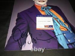 Jack Nicholson Signed 11x14 photo The Joker Batman PSA DNA