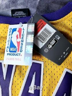 KOBE BRYANT FULL NAME Autographed AUTHENTIC LAKERS #8 NIKE JERSEY PSA/DNA RARE