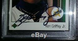 Ken Griffey Jr 1989 Upper Deck Star Rookie PSA/DNA Autograph Auto RARE