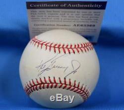 Ken Griffey Jr PSA DNA Coa Autograph American League Hand Signed Baseball