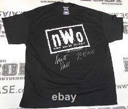 Kevin Nash & Scott Hall Signed NWO Shirt PSA/DNA COA WWE WCW Wrestling Autograph
