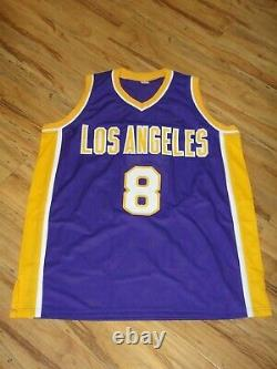 Kobe Bryant Psa/dna Certified Signed Los Angeles Lakers Jersey Autograph Mint