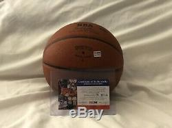 Kobe Bryant Signed Full Size Spalding Basketball PSA/DNA With Premium Display Case