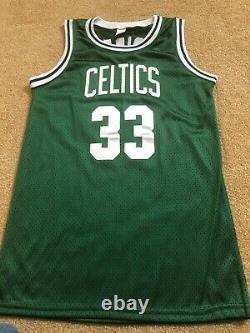 Larry Bird Celtics Autographed Jersey PSA/DNA