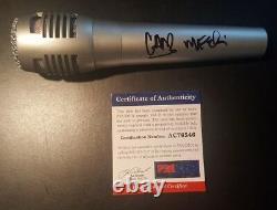 Linkin Park Chester Bennington Mike Shinoda Signed Autographed Microphone PSADNA