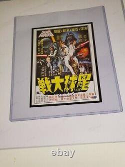 Luke Skywalker Mark Hamill Signed Photo PSA DNA A New Hope and Star Wars IV