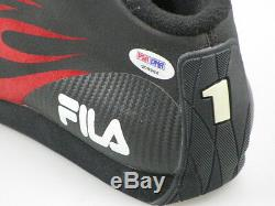 MICHAEL SCHUMACHER RARE Hand Signed Racing Boot + PSA DNA COA Buy 100% Genuine