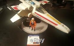 Mark Hamill Signed Vintage Star Wars X-wing Figure Autographed AUTHENTIC PSA/DNA