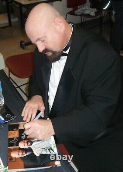 Mean Gene Okerlund Howard Finkel Signed WWE 8x10 Photo PSA/DNA COA Picture Auto