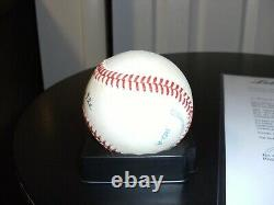 Mickey Mantle Signed OAL Bobby Brown Baseball LOA PSA DNA Autographed Yankees