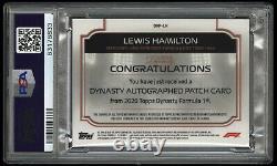 PSA 10 2020 Topps Dynasty F1 Lewis Hamilton RPA Patch 3/10 PSA/DNA AUTO 10 POP 1