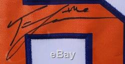 PSA/DNA Clemson #16 TREVOR LAWRENCE Signed Autographed FRAMED Jersey NATL CHAMPS