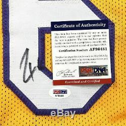 Pau Gasol Signed Jersey PSA/DNA Los Angeles Lakers Autographed