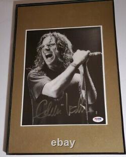 Pearl Jam Ukulele Songs Eddie Vedder signed photo PSA DNA