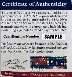Pele Signed Leather Vintage Soccer Ball Autographed PSA DNA ITP Witnessed