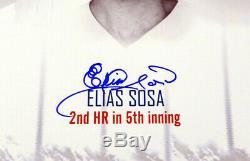 Reggie Jackson & Pitchers Autographed 16x20 Photo Yankees 3 Hr's Psa/dna 6715