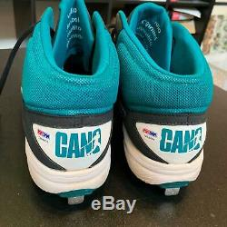 Robinson Cano Signed Game Used Cleats Shoes (2) Seattle Mariners PSA DNA COA