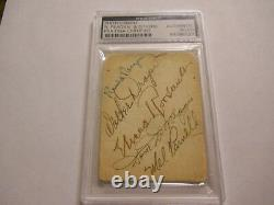 Ronald Reagan Eleanor Roosevelt & Others Signed Photo Psa/dna Authentic Auto