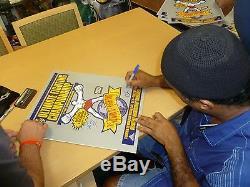 Royce Gracie Ken Shamrock Pat Smith +4 Signed UFC 1 16x20 Photo PSA/DNA Poster