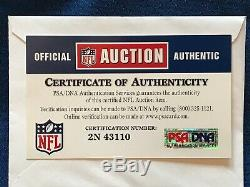 SIGNED Andrew Luck 2017 Skill Cut Team Issued Colts Home Jersey PSA/DNA CERT